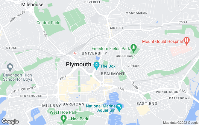 Map for Clever , Plymouth