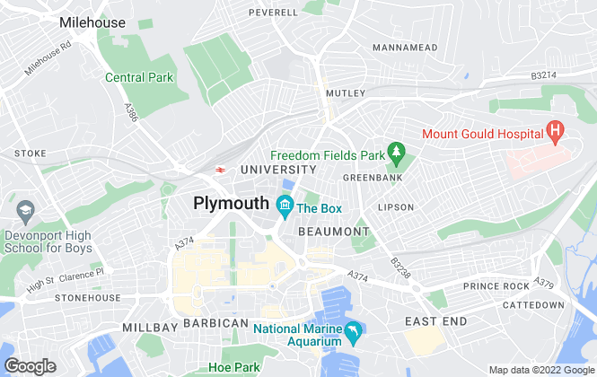 Map for Stags, Plymouth