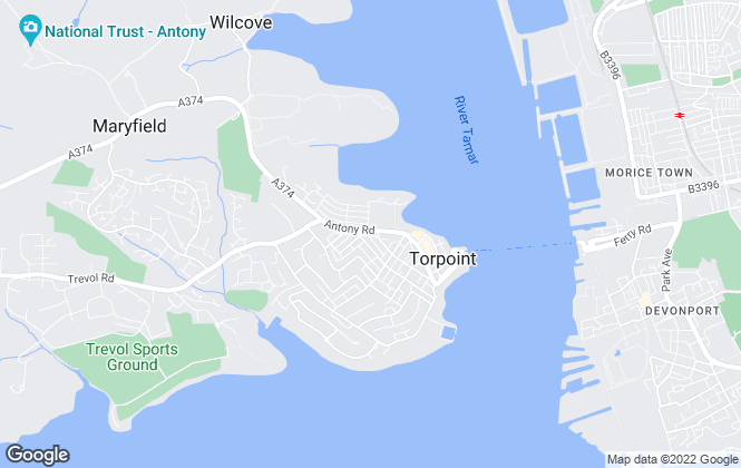 Map for MPH Estate Agents, Torpoint