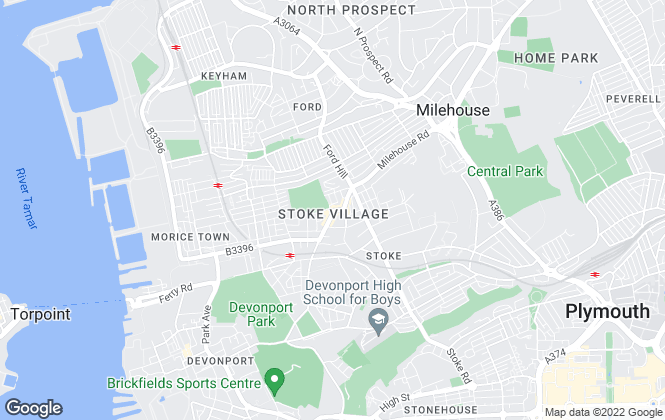 Map for Donnington Stuart, Plymouth