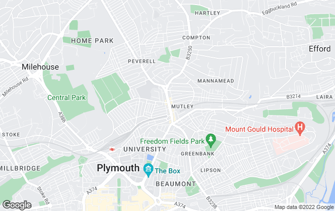 Map for Smeaton Homes Ltd, Plymouth
