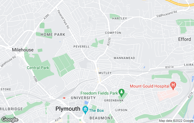 Map for Your Move , Plymouth