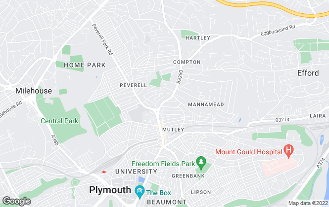 Map for Simply Lets, Plymouth