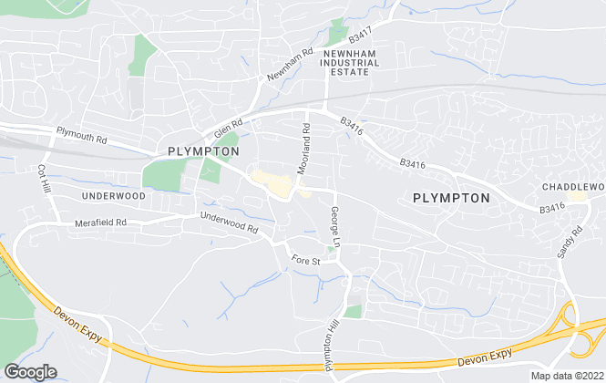 Map for Connells Lettings, Plympton