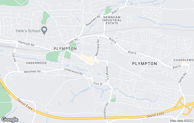 Map for Connells, Plympton