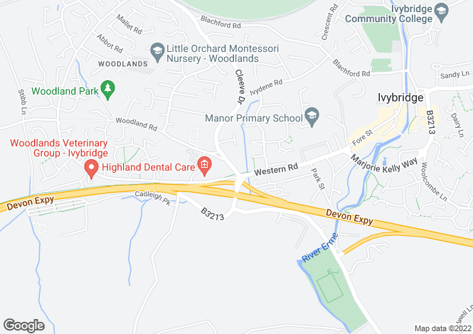 Map for Woodland Terrace,