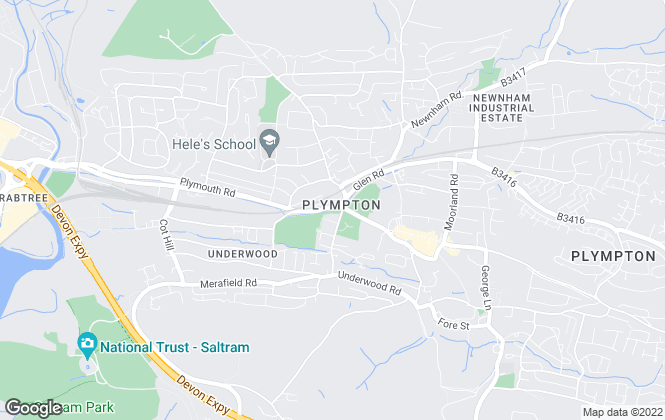 Map for Maitlands , Plympton
