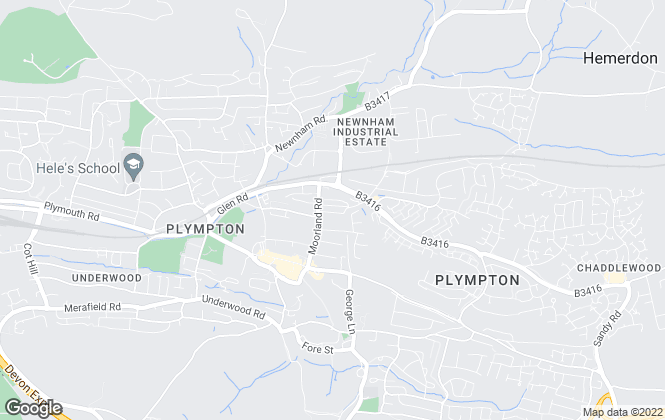 Map for Desmond & Co, Plympton