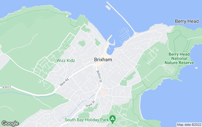 Map for Churchill's Estate Agents, Brixham