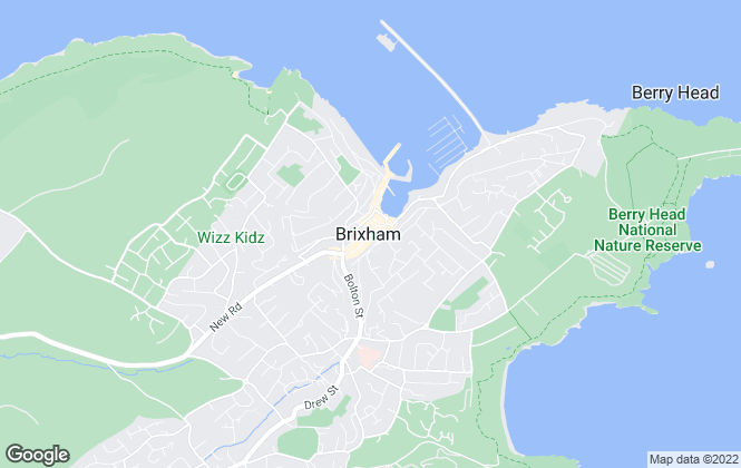 Map for Bradleys, Brixham