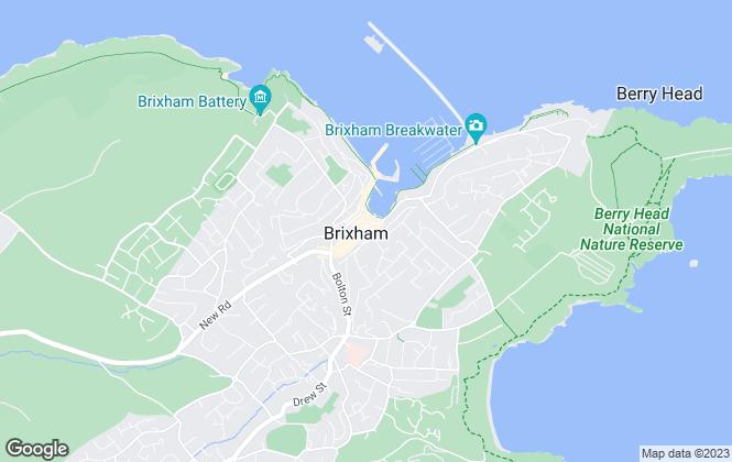 Map for Boyce Brixham, Brixham