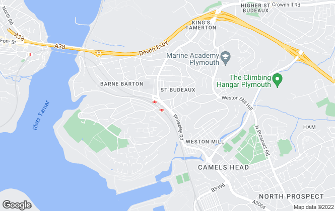 Map for Fox & Sons, St Budeaux