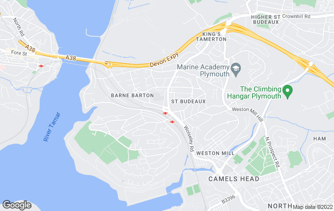 Map for Connells, St Budeaux