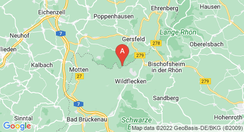 map of Beilstein (Germany)