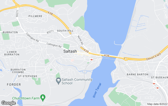 Map for Fox & Sons, Saltash