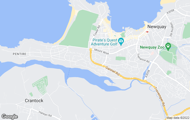 Map for iMove Newquay, Newquay