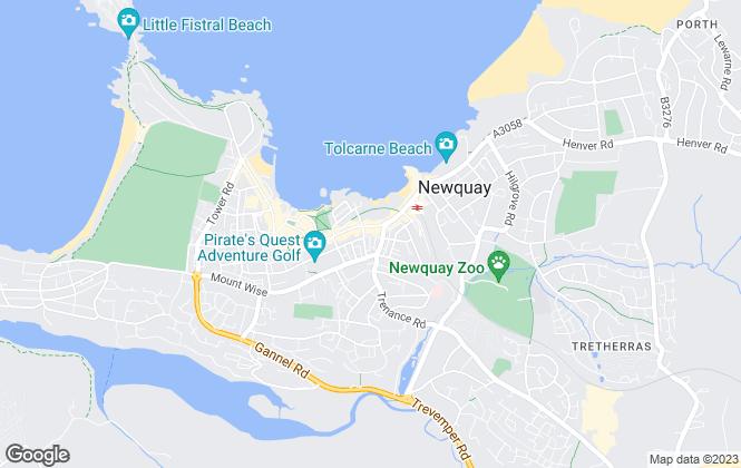 Map for Stratton Creber, Newquay