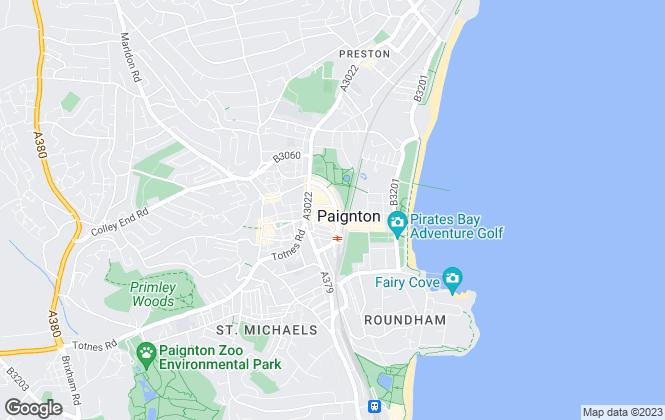 Map for Taylors (Torbay) Ltd, Devon