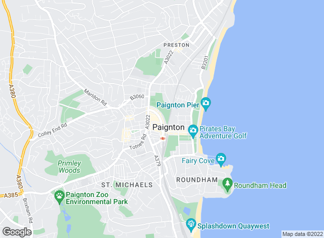 Map for Fulfords Lettings, Paignton - Lettings