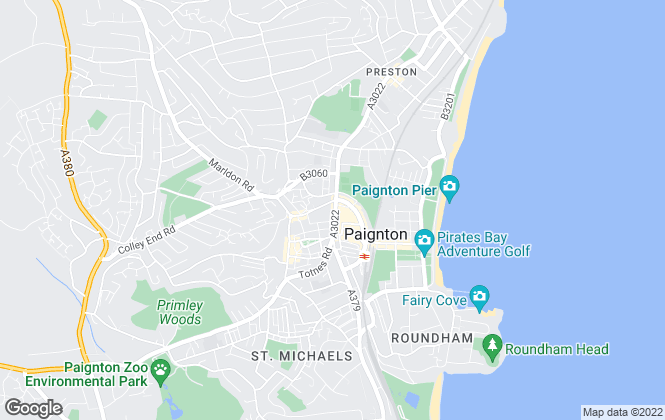 Map for Williams Hedge Estate Agents, Paignton