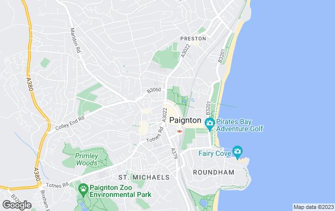 Map for HS Owen, Paignton