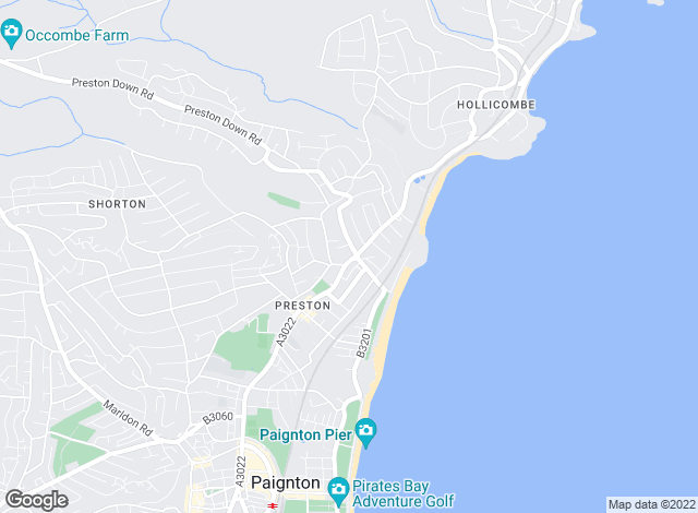 Map for Bryce Baker, Paignton