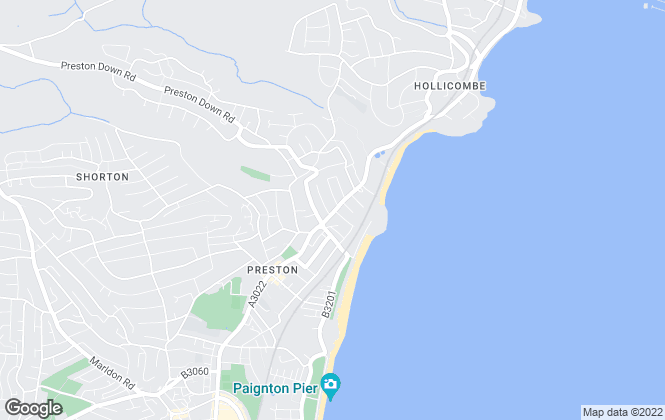 Map for The Premier Lettings Company, Paignton