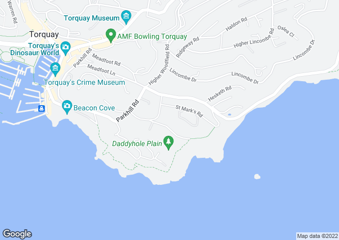 Map for St. Marks Drive, St. Marks Road,