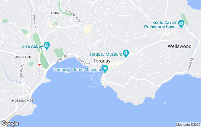 Map for Stags, Torquay