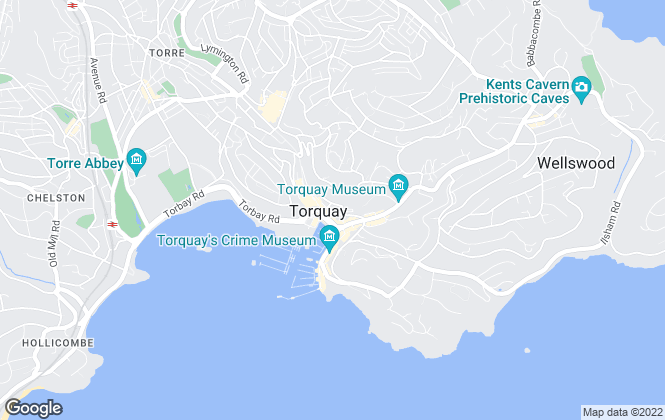 Map for Waycotts, Torquay
