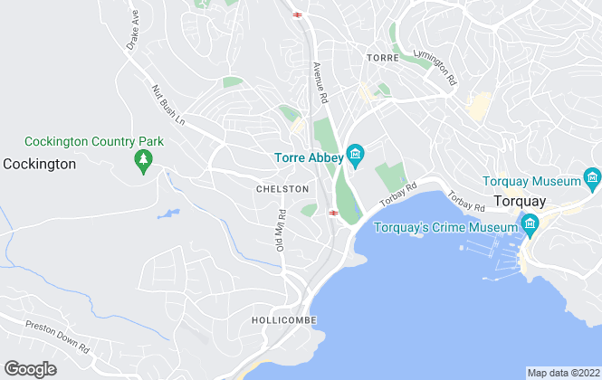 Map for Fresh Move, Torquay