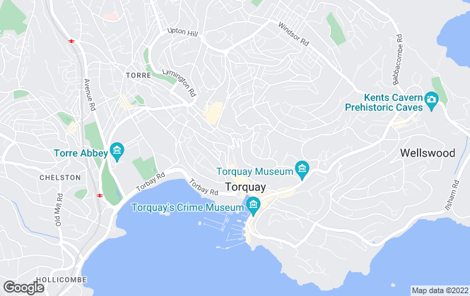 Map for Bettesworths, Torquay