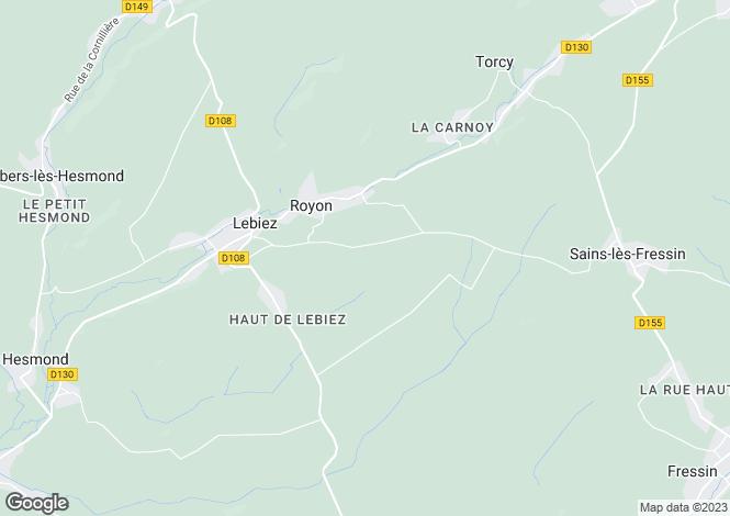 Map for Royon, Pas-de-Calais, Nord-Pas-de-Calais