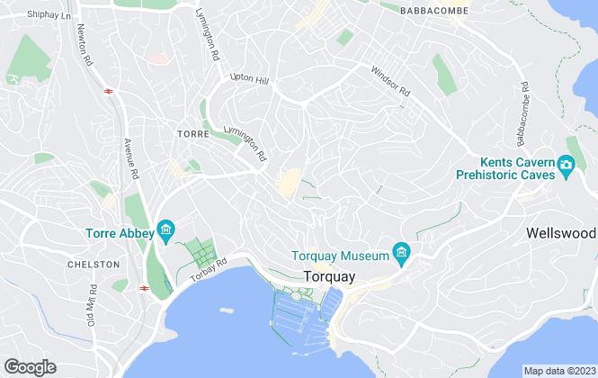 Map for Pegg Estates, Torquay