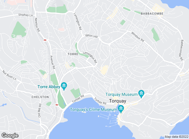 Map for Torbay Accommodation Bureau, Torquay
