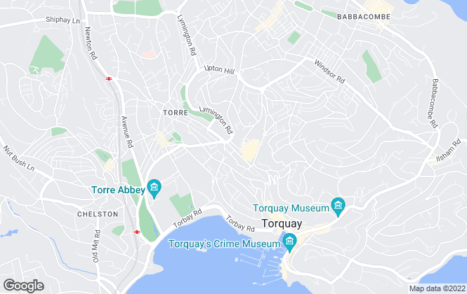Map for Connells, Torquay