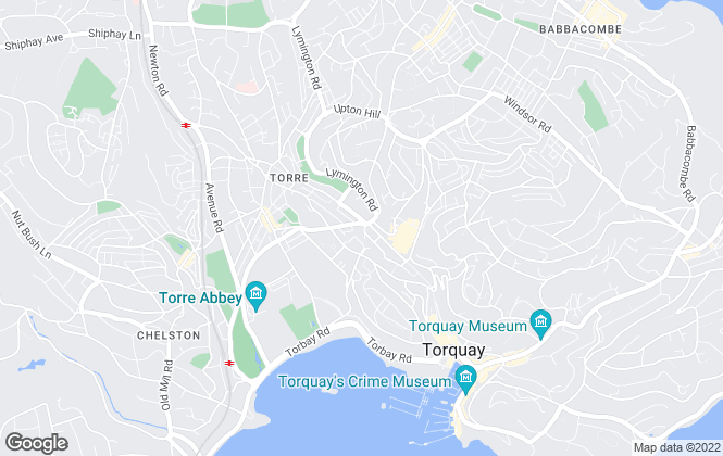 Map for Absolute Sales & Lettings Ltd, Torquay