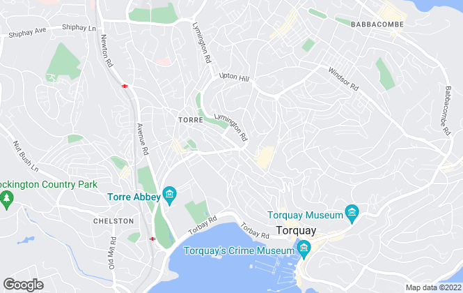 Map for TDA, Torbay