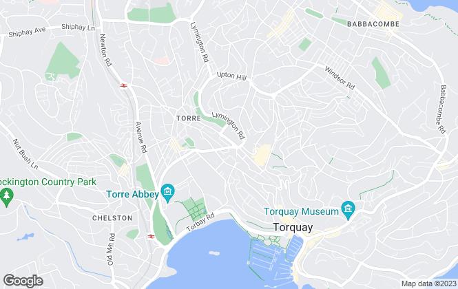 Map for TDA, Torbay