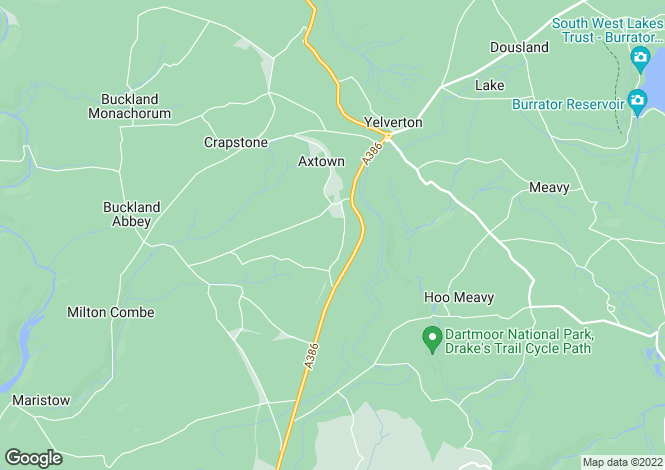 Map for Yelverton
