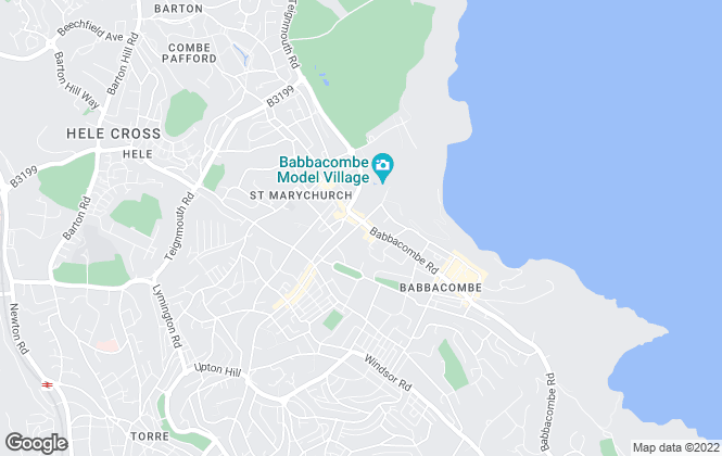 Map for John Lake Estate Agents, Torquay
