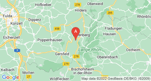 map of Mathesberg (Germany)
