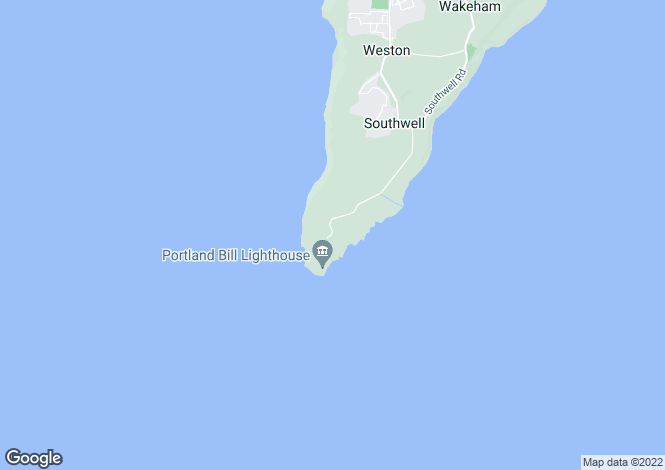 Map for Portland Bill,