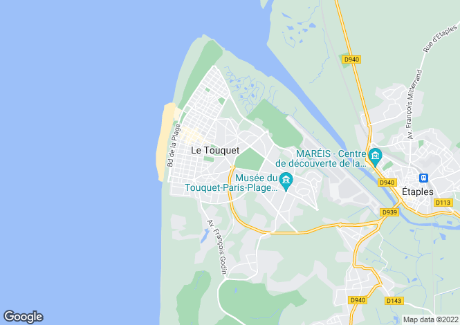 Map for le-touquet-paris-plage, Pas-de-Calais, France