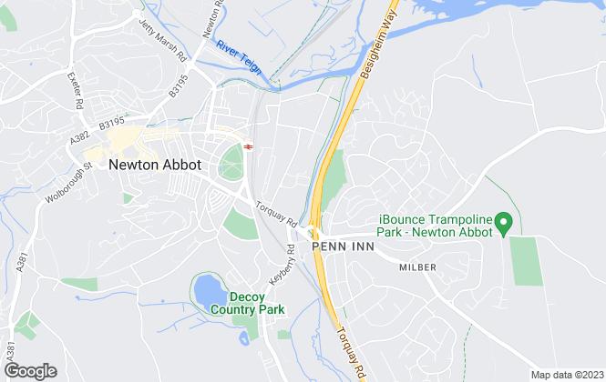 Map for Teignbridge District Council, Teignbridge District Council