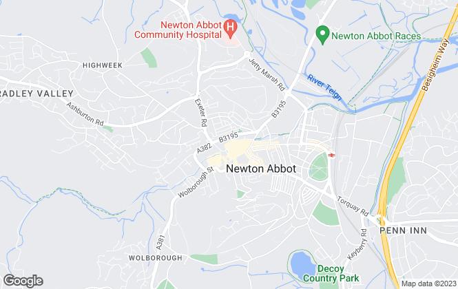 Map for Rendells, Newton Abbot