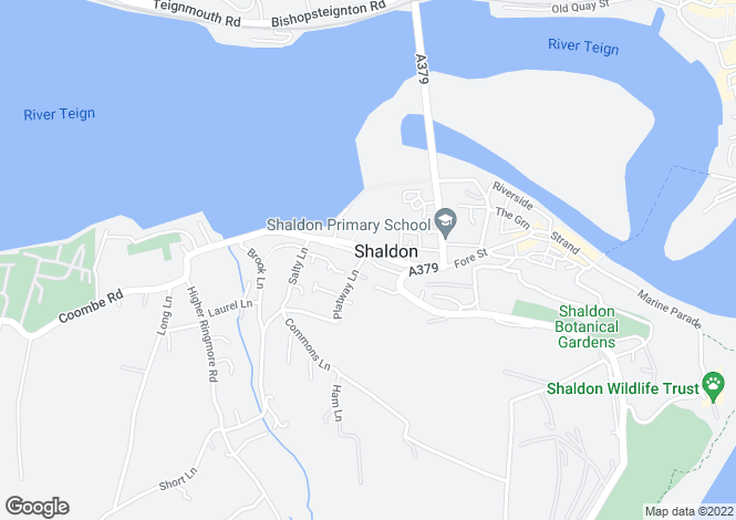 Map for Ringmore Road, Shaldon, Devon