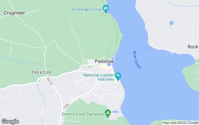 Map for Fine & Country, Padstow
