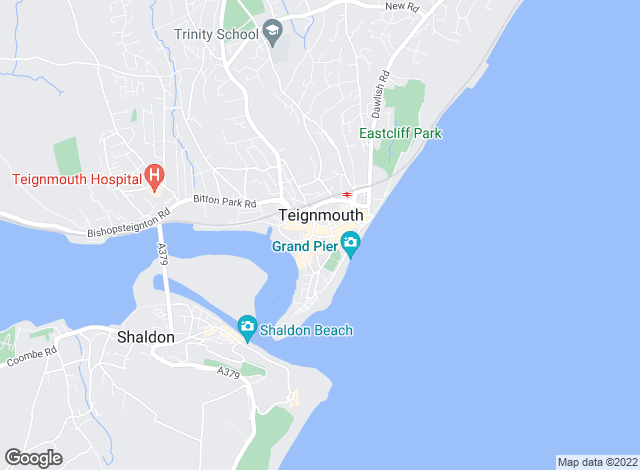 Map for Village Property, Teignmouth