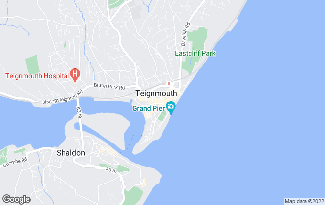Map for Bradleys, Teignmouth